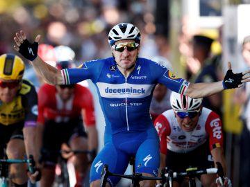 Viviani gana la cuarta etapa del Tour de Francia 2019