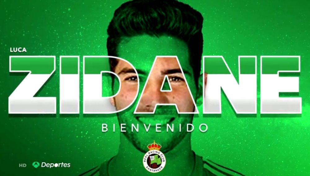 Luca Zidane se va cedido al Racing de Santander