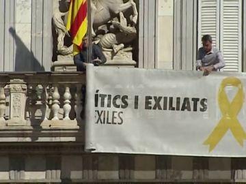 La fiscalía pide la inhabilitación de Torra por desobedecer a la Junta Electoral con los lazos amarillos
