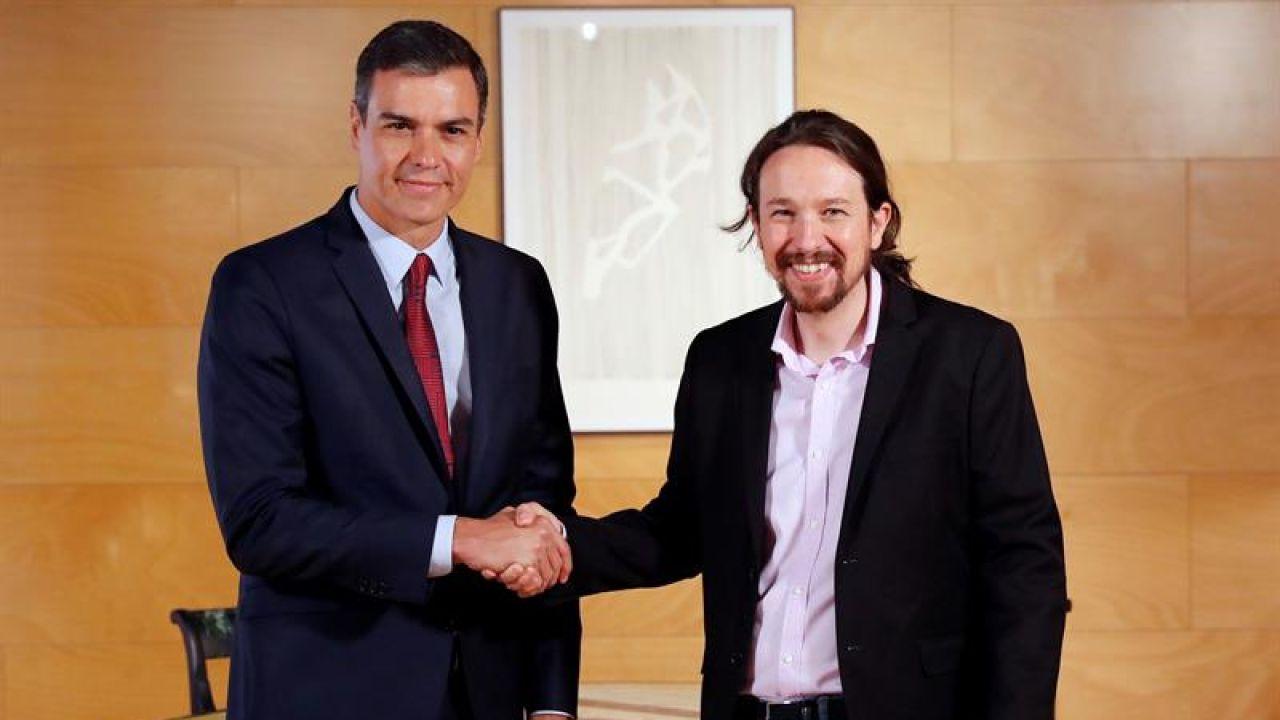 Sánchez negocia a contrarreloj la coalición con Podemos para ser investido presidente esta semana