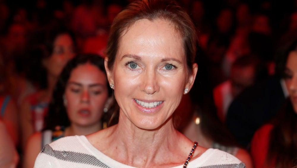 Miranda Rijnsburger durante el desfile