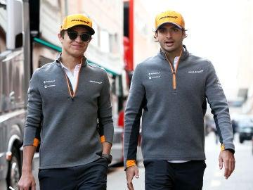 Norris y Sainz seguirán siendo pilotos de McLaren el siguiente año