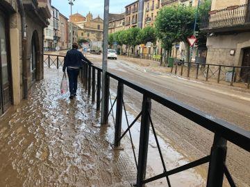 Tafalla inundada