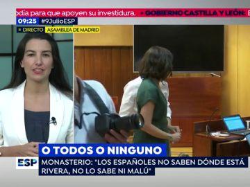 Rocío Monasterio.
