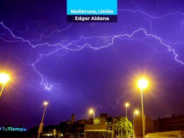 Las tormentas de estos días, a través de la mirada de los espectadores