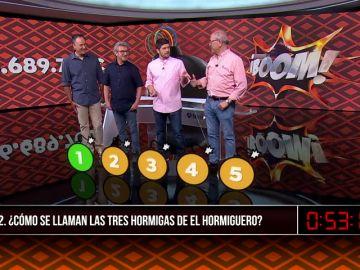 Los Lobos ganan el otro bote de Boom en Antena 3 Noticias