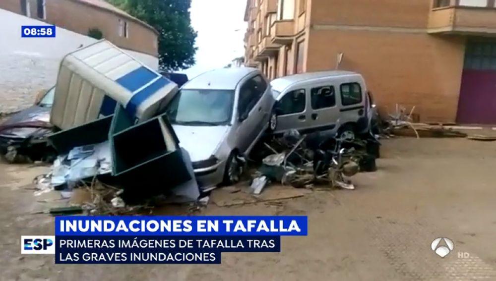 Inundaciones en Tafalla