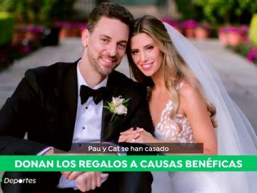 Pau Gasol se casa en secreto con Catherine McDonnell