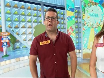 Óscar, el conductor de ambulancias que concursó en '¡Boom!' contra las 'Extremis' y en 'La ruleta de la suerte' con 'Los Lobos'