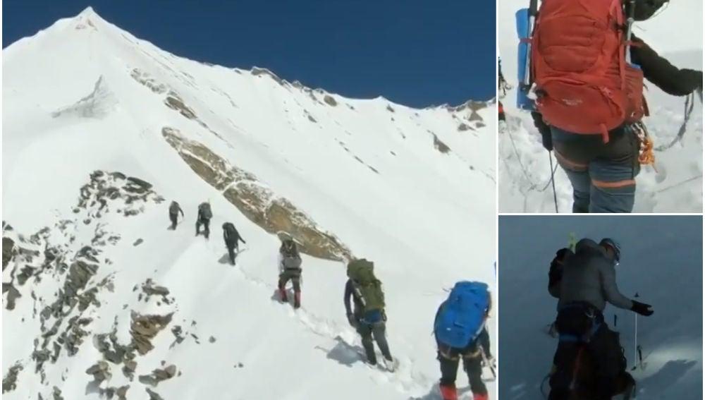 Imágenes de los ocho montañeros antes de perder la vida en el Himalaya