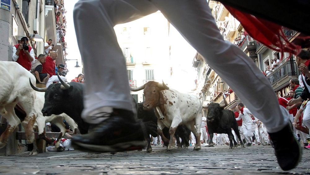 Cuarto encierro de San Fermín