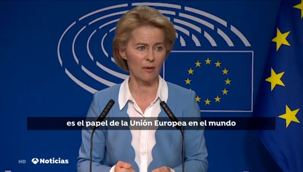 La candidata a presidir la Comisión Europea deja la puerta abierta a una prórroga del Brexit