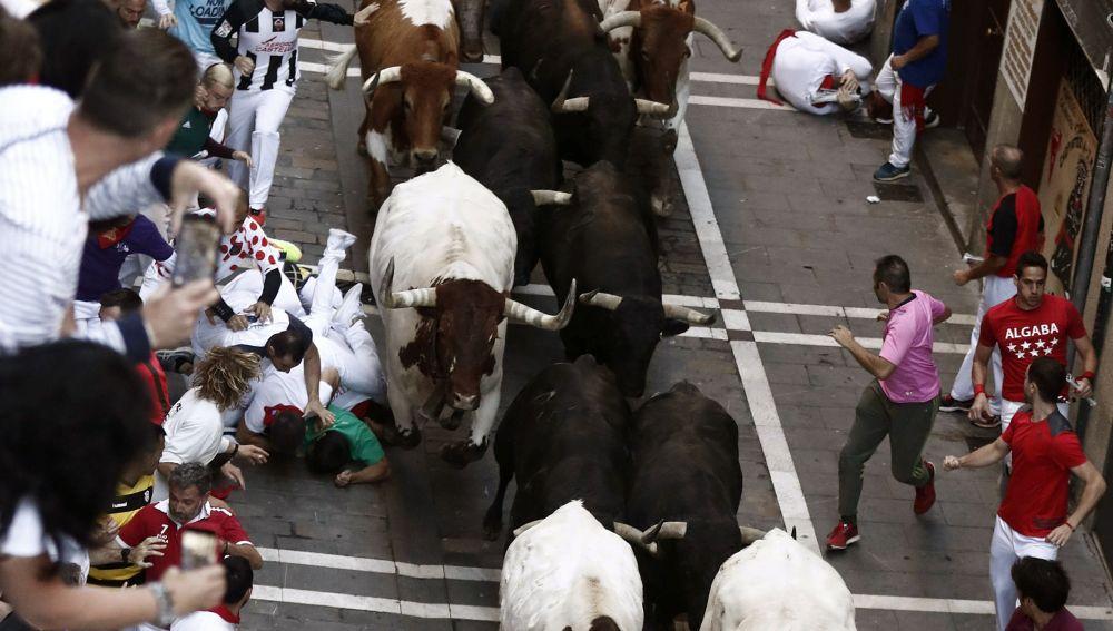 Encierro de los Sanfermines de Pamplona