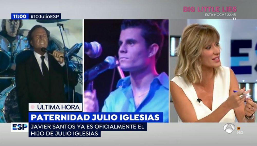 Paternidad de Julio Iglesias