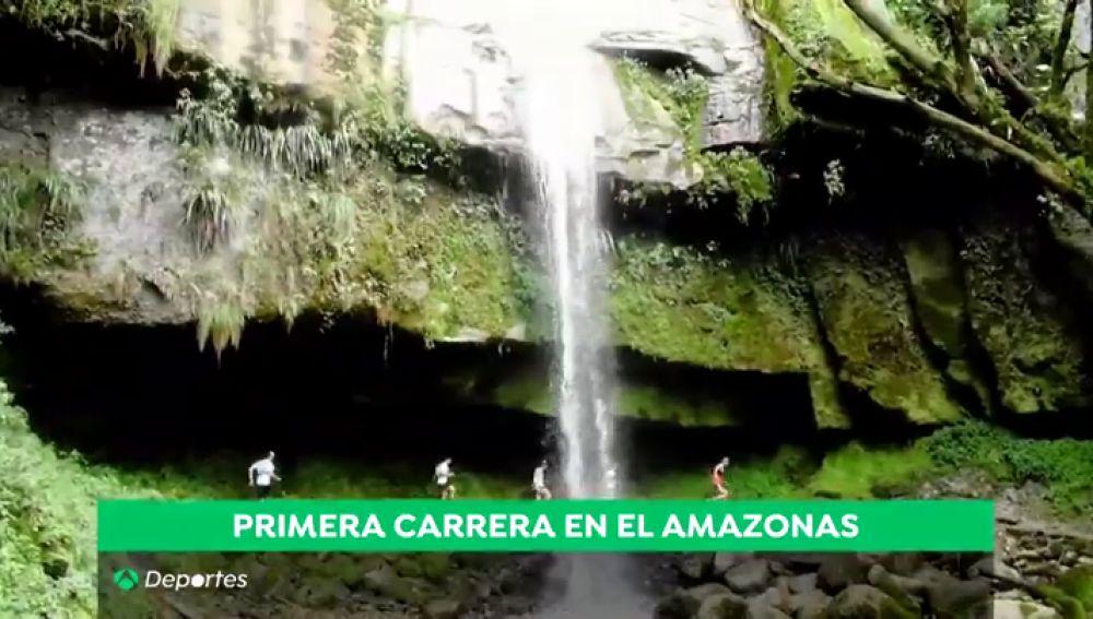 La carrera del amazonas en la que lo importante es sobrevivir: 80 km por la noche, culebras y cataratas enormes