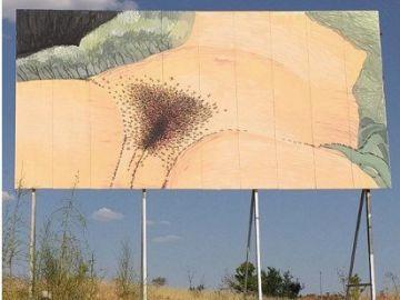 Ayuntamiento de Rivas vuelve a exhibir un grafiti tras ser acusado de censura