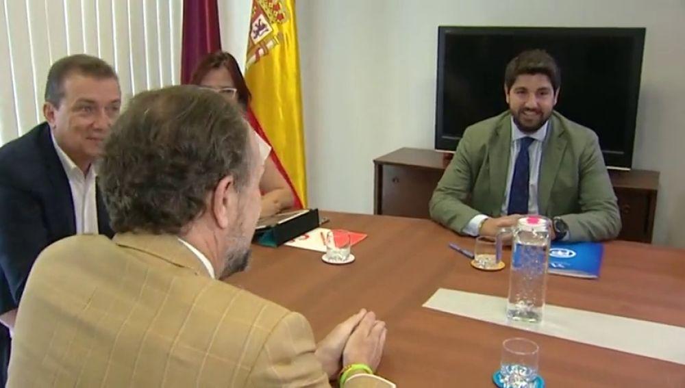PP, Cs y Vox se dan 24 horas para intentar cerrar un acuerdo en Murcia