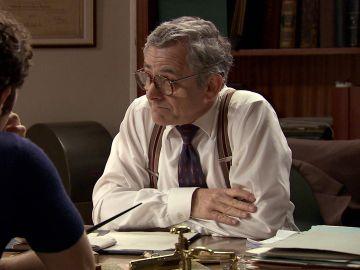 Miguel le pide a Quintero que sea el abogado de su hermano Jon