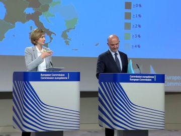 Bruselas eleva la previsión de crecimiento de España dos décimas, hasta el 2,3%