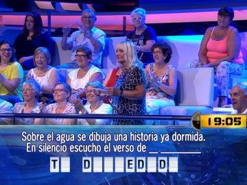 Rafaela sorprende en '¡Ahora Caigo!' con sus espectaculares dotes de baile