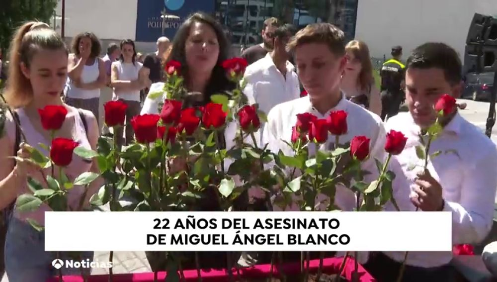 Ermua recuerda a Miguel Ángel Blanco