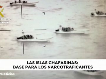La Guardia Civil desmantela un refugio de narcolanchas en las Islas Chafarinas