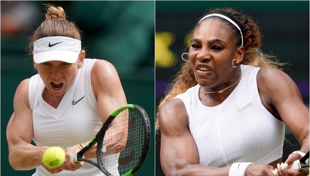 Simona Halep y Serena Williams jugarán la final de Wimbledon
