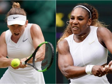 Simona Halep y Serena Williams jugarán la final de Wimbledon