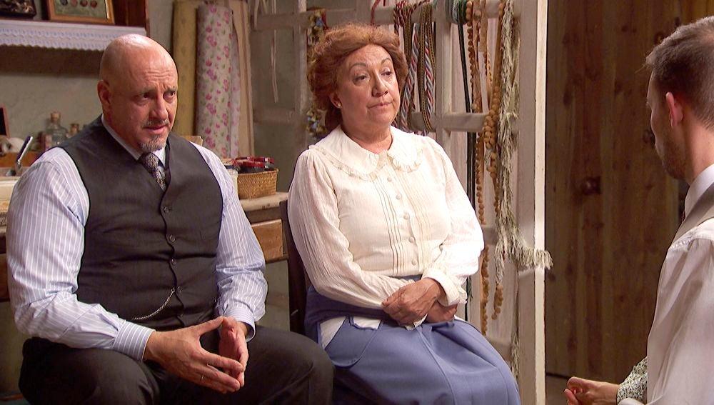 'El secreto de Puente Viejo': Dolores y Gracia llegan a un acuerdo sobre el bautizo de Belén