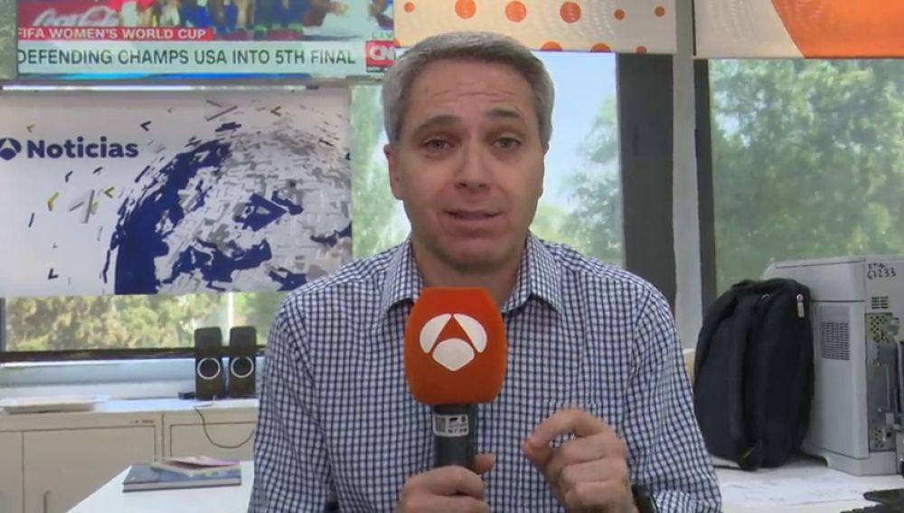 Vicente Vallésa segura que es un aficionado de la carrera espacial