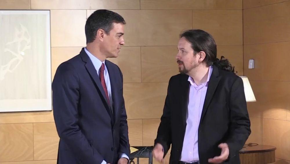 Pedro Sánchez y Pablo Iglesias han vuelto a hablar... y siguen sin entenderse