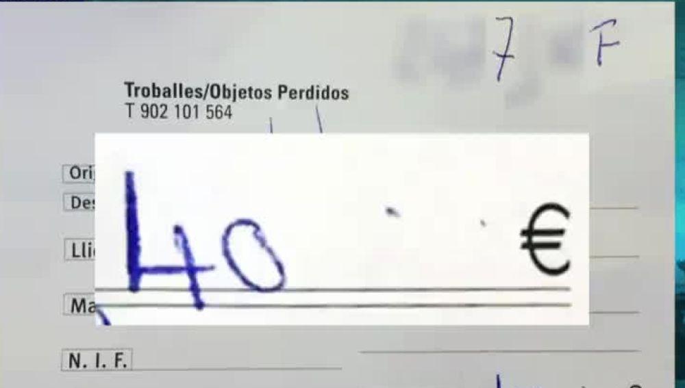 La factura que el usuario ha compartido en redes para denunciar la esafa