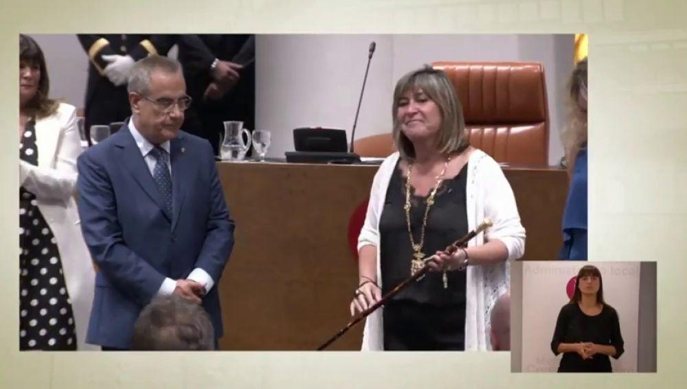La socialista Marín, presidenta de la Diputación de Barcelona con los votos independentistas de JxCat