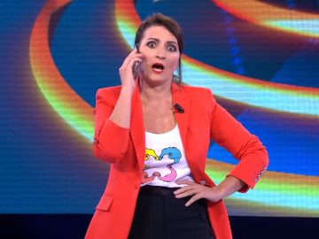 La divertida conversación de Silvia Abril con la madre de Arturo Valls en '¡Ahora caigo!'