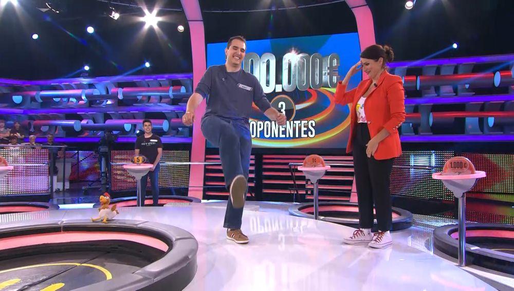 Arturo Valls crea escuela en '¡Ahora caigo!'