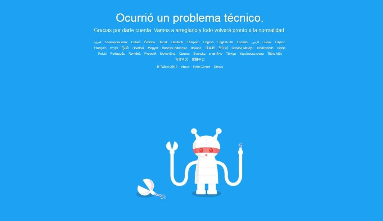 Twitter está caído hoy: Twitter no funciona y registra problemas