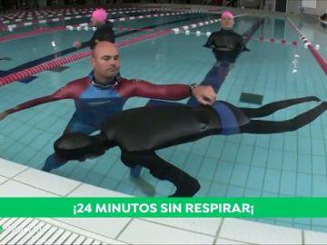 24 segundos apnea