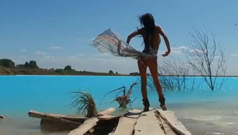 'Las Maldivas de Novosibirsk', el paraíso para las influencers y el postureo