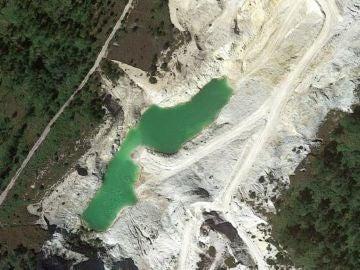 El lago del monte Neme