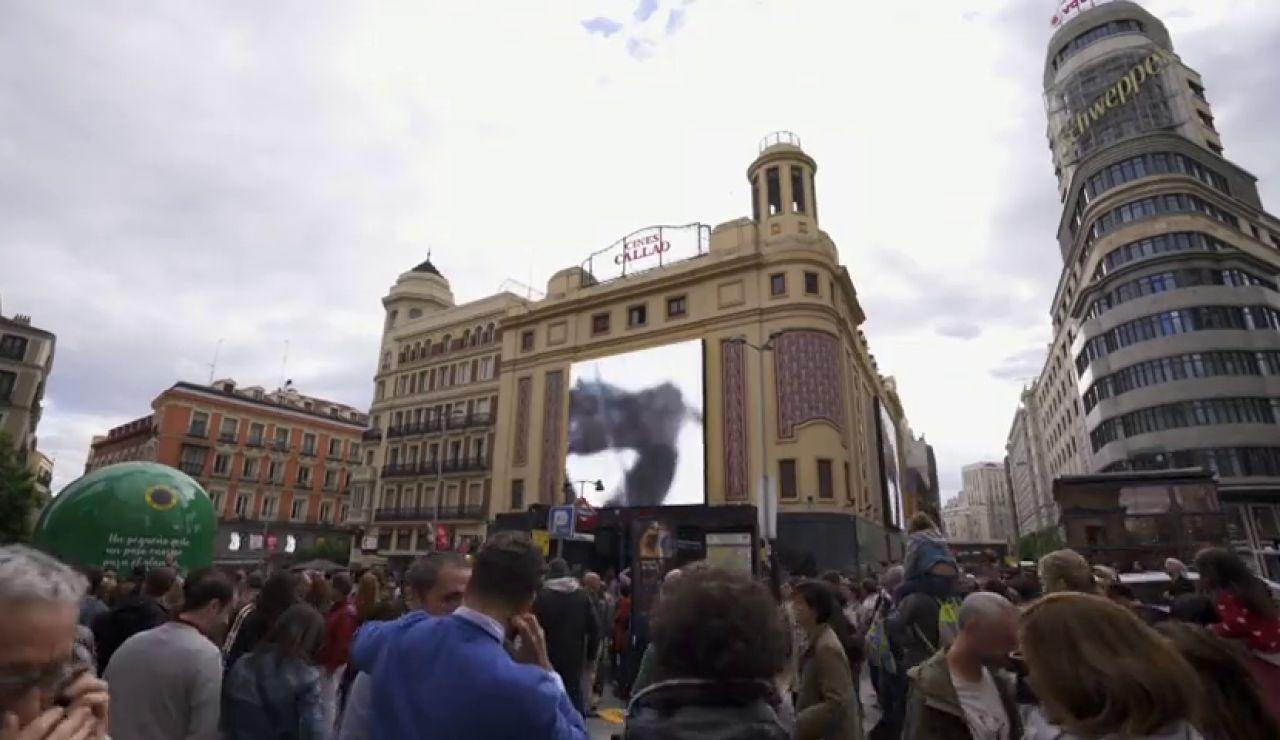 La mejor tecnología audiovisual de Europa llega a la madrileña plaza de Callao
