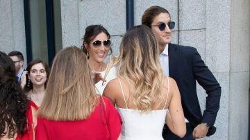 Paz Padilla junto a su hija Anna Ferrer y su novio Iván Martín