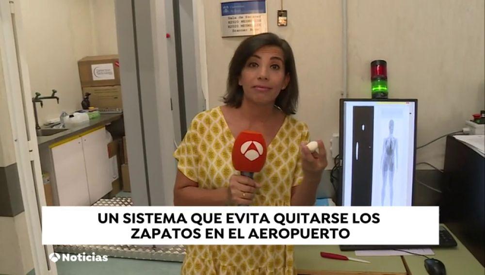 Españoles desarrollan un sistema para evitar quitarse los zapatos en el aeropuerto