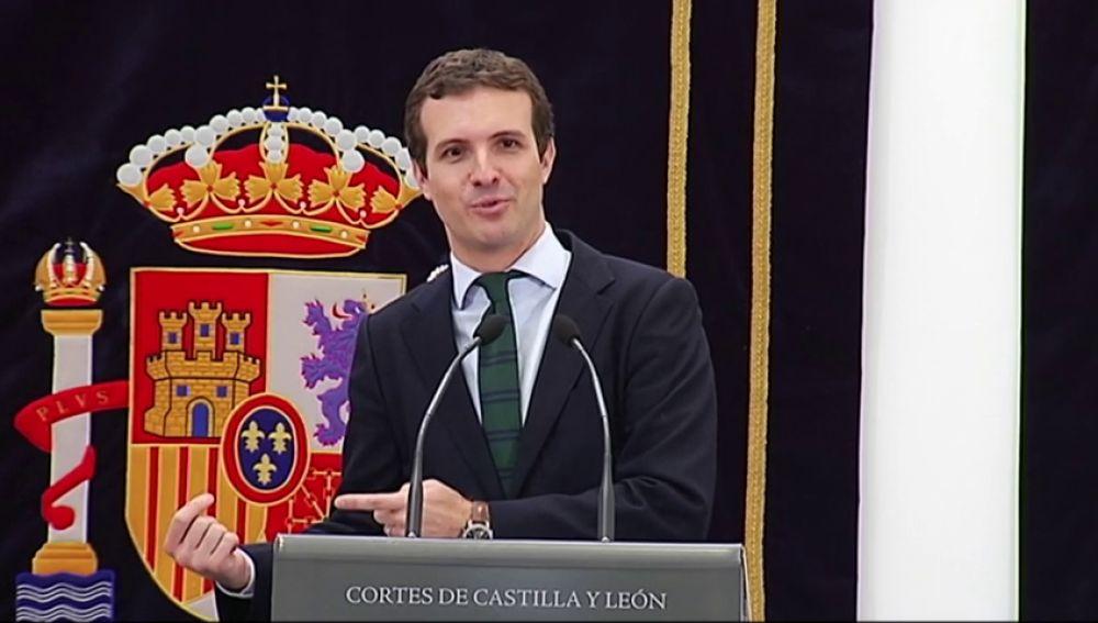 """Casado: """"Sánchez es el responsable del bloqueo"""""""