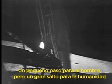¿Cuáles fueron las primeras palabras que dijo el hombre en la luna?