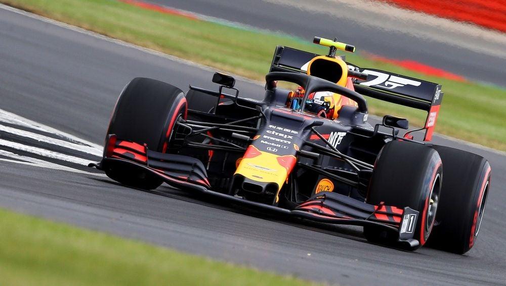 Pierre Gasly, el más rápido en los libres de Silverstone