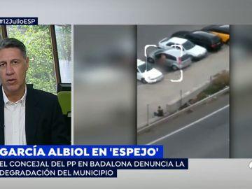 """Albiol, sobre el vídeo de un transeúnte masturbándose en Badalona: """"¿Qué haría este pervertido si coincide con una niña?"""""""