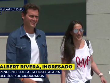 Albert Rivera y Malú.