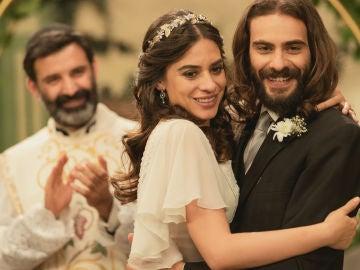 Avance semanal 'El secreto de Puente Viejo': Isaac y Elsa sellan su amor con una mágica boda