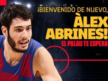 Álex Abrines regresa al Barcelona