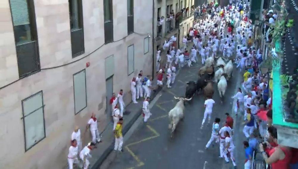 Vídeo sel sexto encierro de San Fermín